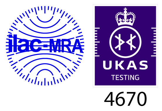 Click to download our UKAS ISO 17025 certificate
